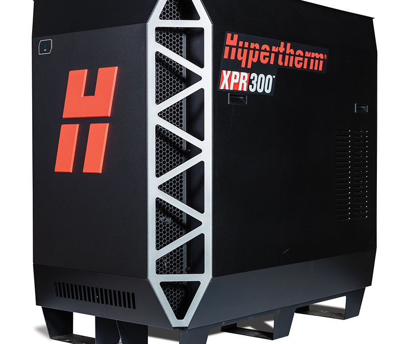Hypertherm introduces new class of plasma with launch of XPR300 for X-Definition cutting on mild steel, stainless, and aluminum