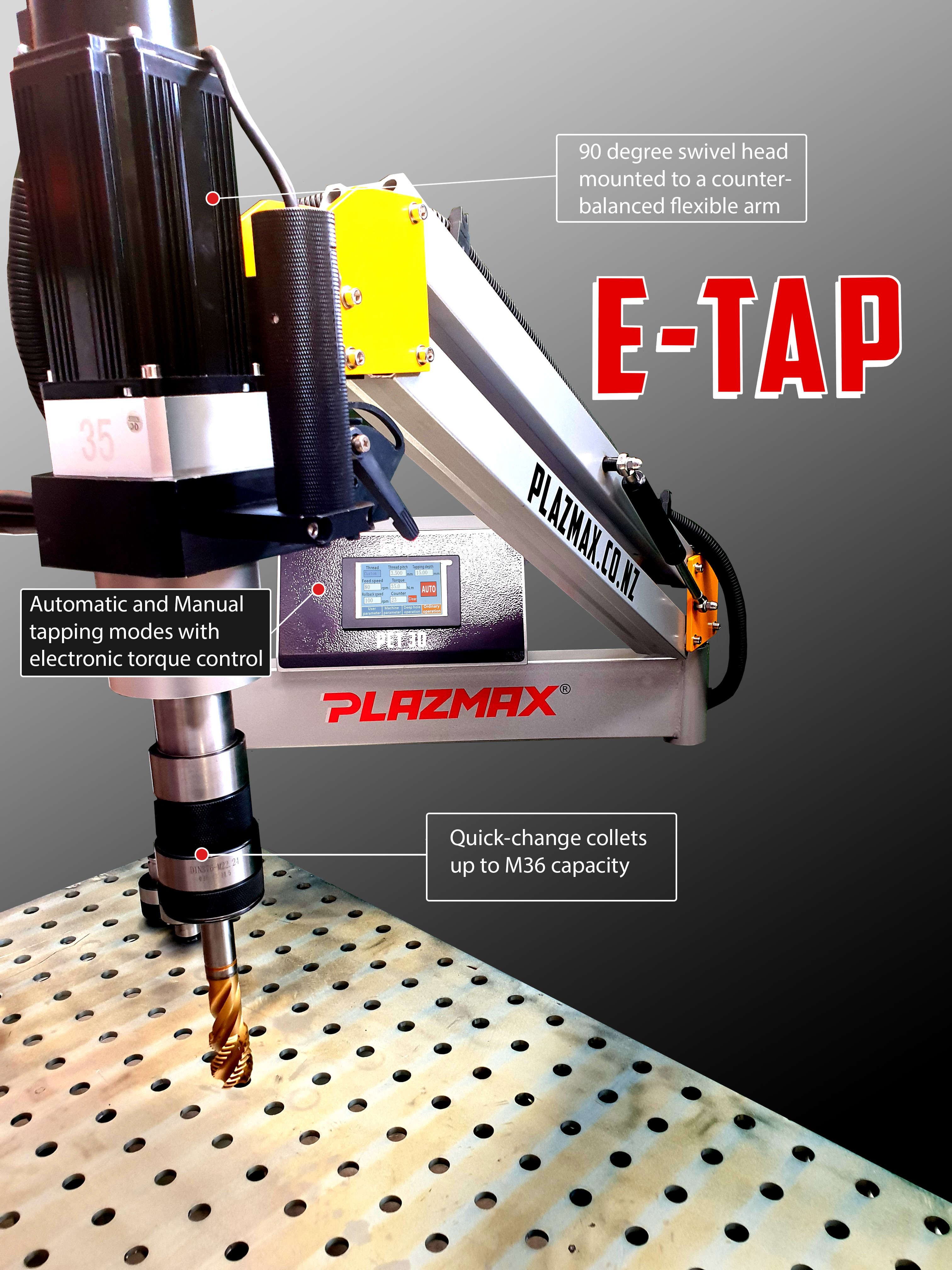 E-Tap Mechanised Tapping Arm